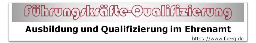 Logo of e-learning - Qualifizierung für ehrenamtliche Einsatzkräfte im DRK